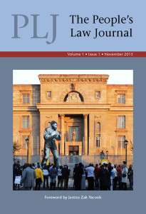 NEW TITLE: PLJ The People's Law Journal